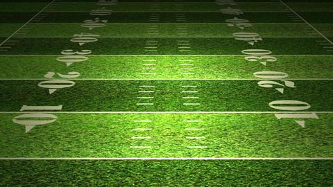 American Football Field Stock Video Footage