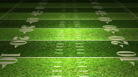 American Football Field Animation