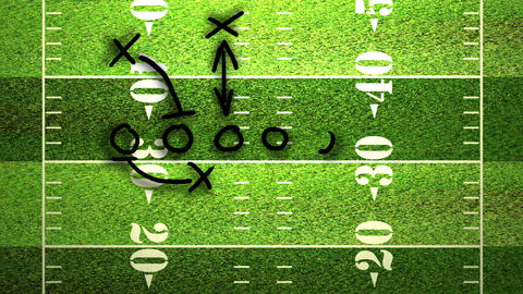 American Football Tactics 02 Animation