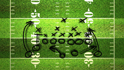 American Football Tactics 04 Animation