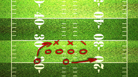 American Football Tactics 06 Animation
