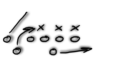American Football Tactics 08 Animation