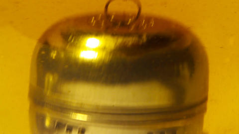 Tea with Metal Filter closeup 01 Stock Video Footage
