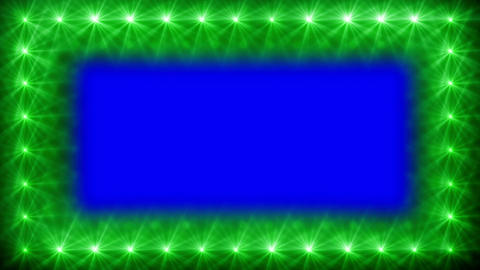 glowing border Stock Video Footage