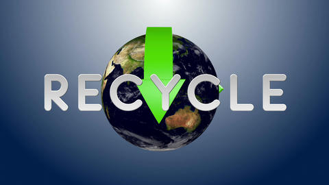 Recycle Earth 03 Animation