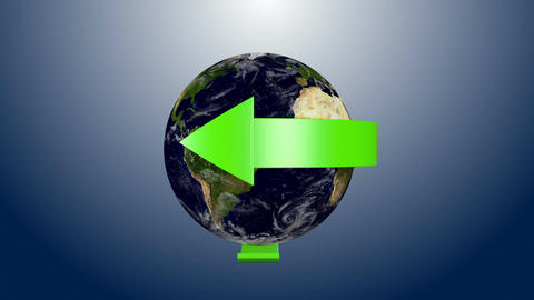 Recycle Earth 07 Stock Video Footage