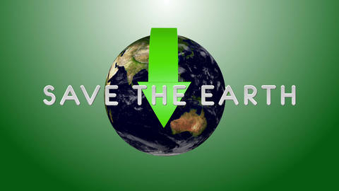 Save The Earth 02 Stock Video Footage