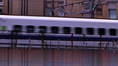 trains Stock Video Footage