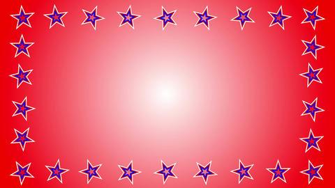 star border Stock Video Footage