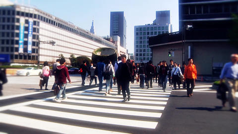 japanese streets Stock Video Footage
