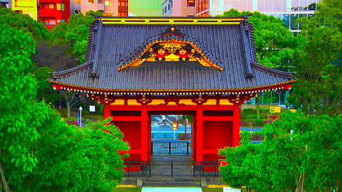 asian shrine Stock Video Footage