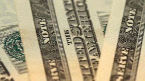 american dollars Footage