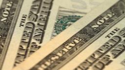 american dollars Stock Video Footage