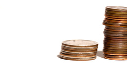 coins Stock Video Footage