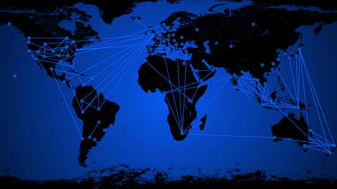 Worldwide Network Connections v3 01 Animation
