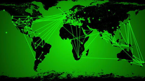 Worldwide Network Connections v3 03 Animation