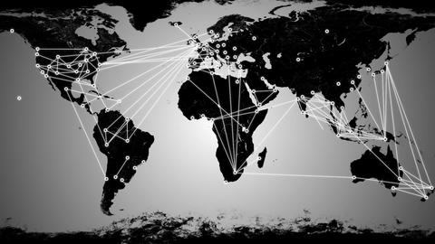 Worldwide Network Connections v3 05 Animation