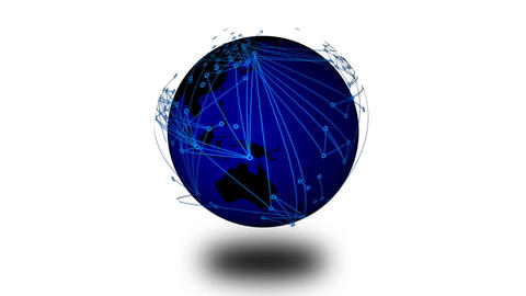 Worldwide Network Connections v4 07 Animation