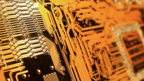 circuit board Footage