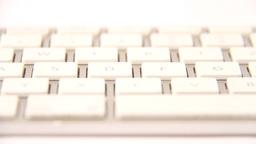 white keyboard Footage
