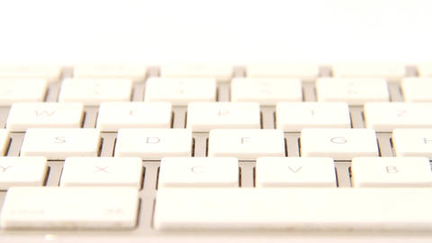 white keyboard Footage