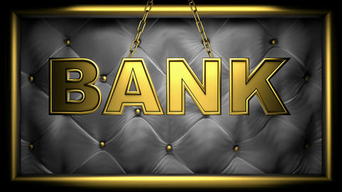 bank Stock Video Footage