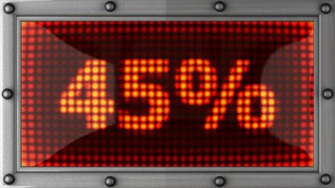percentage Stock Video Footage