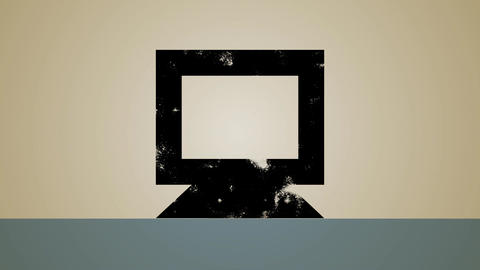 Computer Mirror Backup Loop HD Stock Video Footage