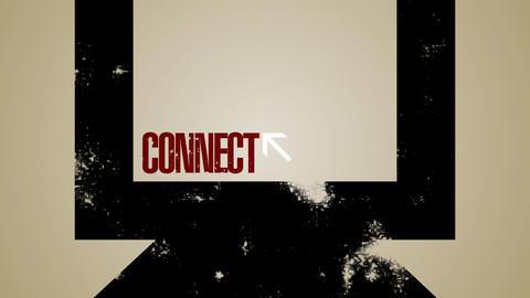 Computer Network Loop HD Stock Video Footage