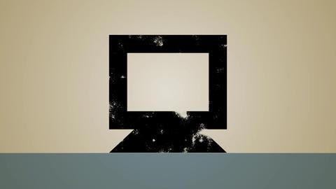 Computer Security Loop HD Stock Video Footage