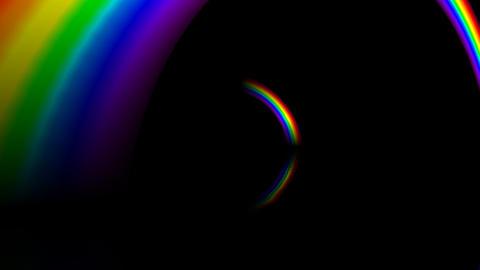 Rainbow BBM with alpha Animation