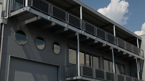 interesting modern building Footage