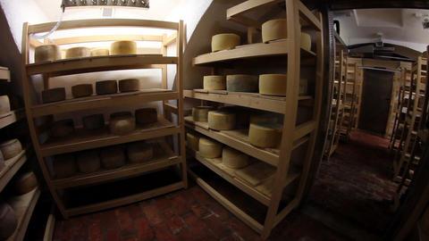 Storage for drying cheese ライブ動画