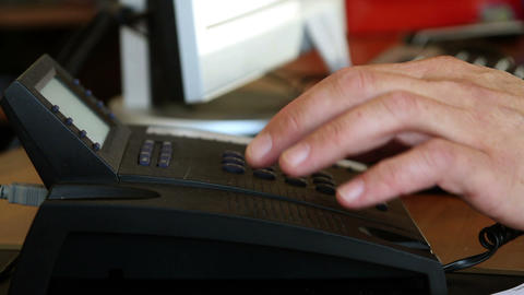 Detailed shot of hands typing on the computer Live Action