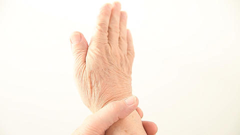 checking wrist movement Footage