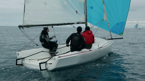 Sailing 140 E HD Footage