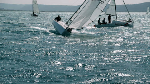 Sailing 55 E HD Footage