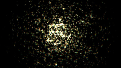 Splash of Blurred sparkles. Alpha channel is included Stock Video Footage