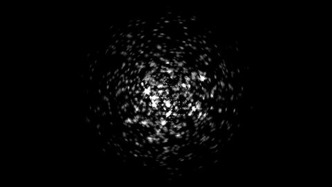Splash of Blurred sparkles. Alpha channel is included Animation