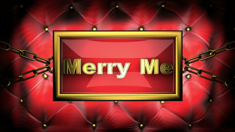 merry me Stock Video Footage