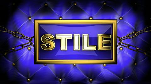 stile Stock Video Footage