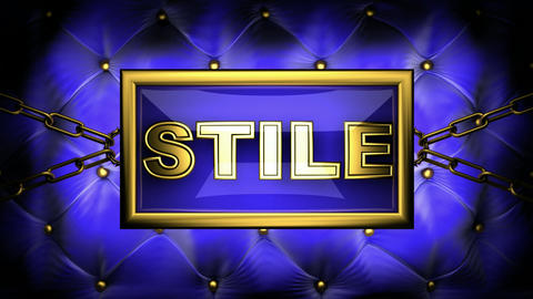 stile Stock Video Footage