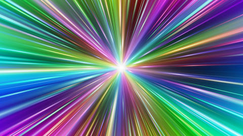 Colorful Rays Ac1 HD Stock Video Footage