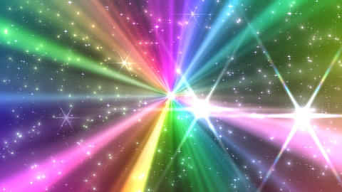 Colorful Rays Ak1 HD Stock Video Footage
