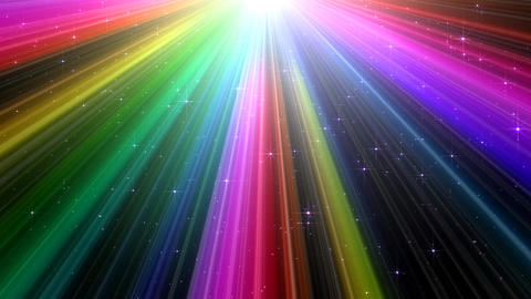 Colorful Rays Bg1 HD Stock Video Footage