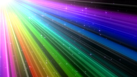 Colorful Rays Cg1 HD Stock Video Footage