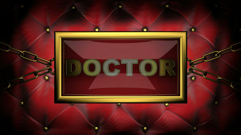 blinking monitor doctor Stock Video Footage