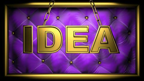 idea violet Animation