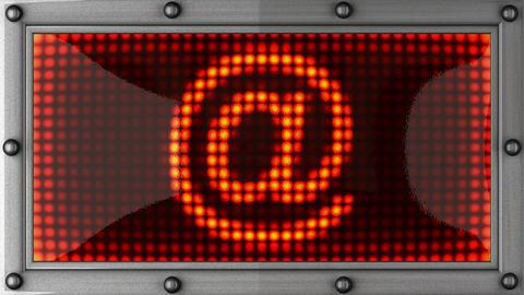 blinking lights(@) Stock Video Footage
