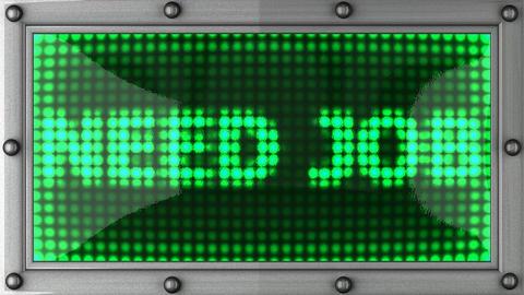 blinking lights(need job) Stock Video Footage